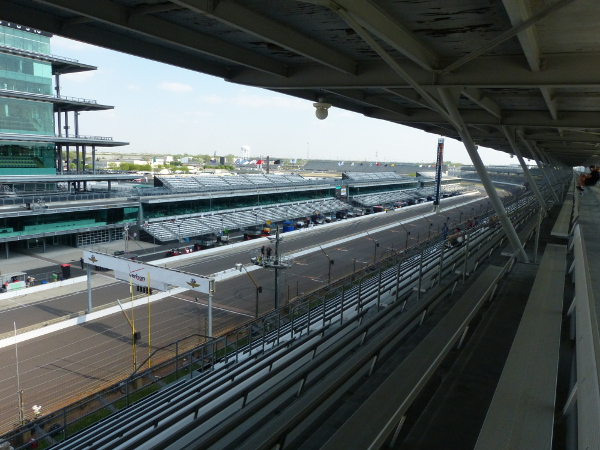 Grand Prix of Indianapolis view from Paddock Penthouse