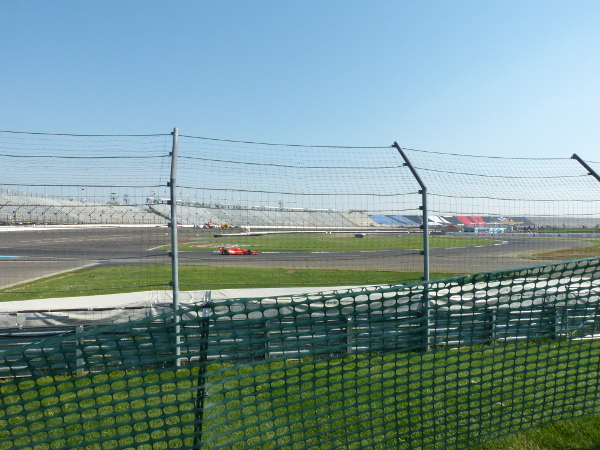 Grand Prix of Indianapolis view from turn 1 spectator mound