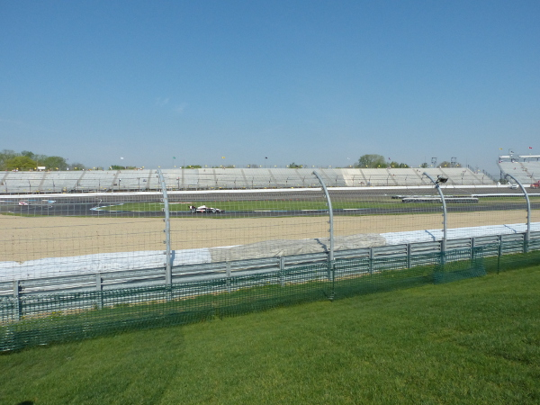 Grand Prix of Indianapolis view from turn 2 spectator mound