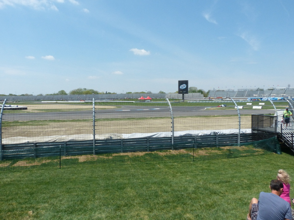 Grand Prix of Indianapolis view from turn 6 spectator mound