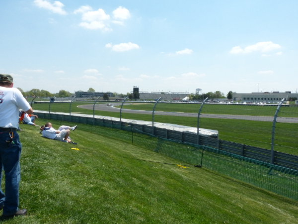 Grand Prix of Indianapolis view from turn 7 spectator mound