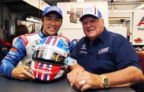 Takuma Sato Indianapolis 500 helmet auction begins today