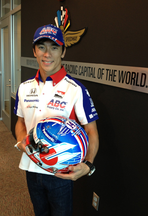 Takuma Sato to auction his Indianapolis 500 helmet for With You Japan charity