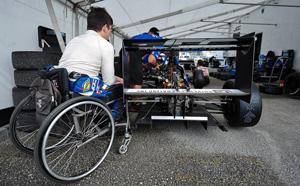 Paraplegic racer Michael Johnson in Pro Mazda with JDC Motorsports