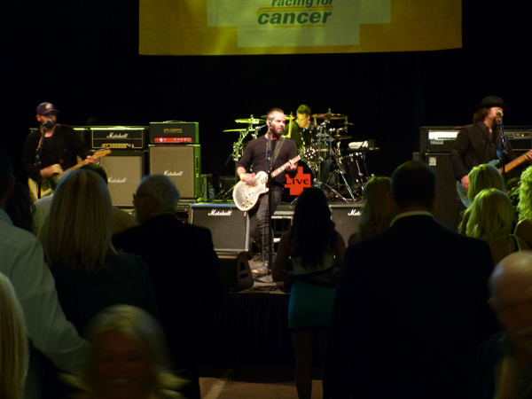 LIVE performs in their inimitable style at The Yellow Party 2014 in downtown Indianapolis.