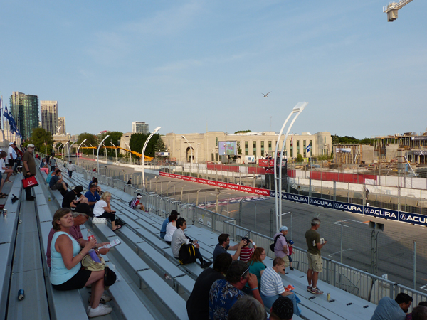 Honda Indy Toronto start/finish grandstand section F