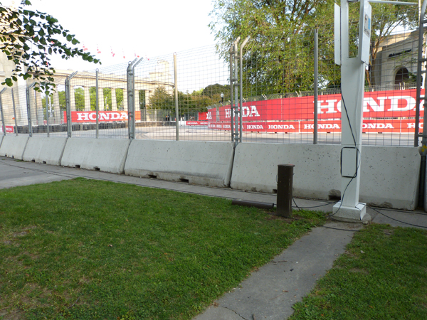 Honda Indy Toronto turn 1 general admission viewing
